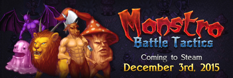 Monstro on Steam on December 3rd!