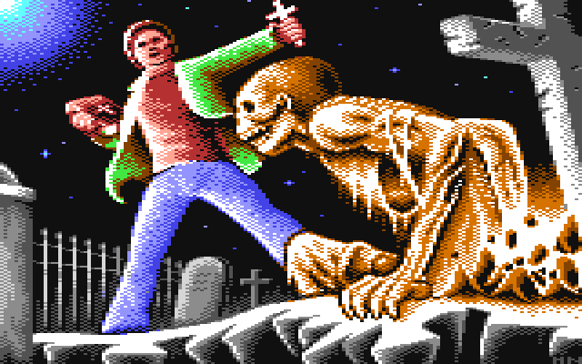 C64 Exorcist Artwork