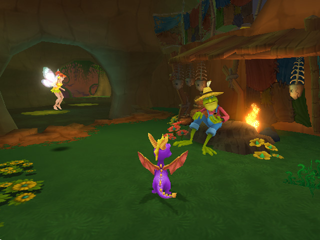 Spyro: A Hero's Tail on PS2